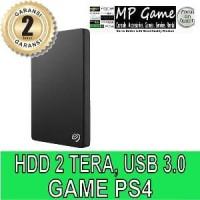 Hardisk 2 Tera External PS4 aksesoris hobi