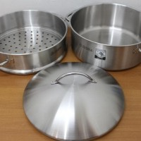 Panci Kukus Zebra Chef Steamer 30cm 264363 (00230.00060)