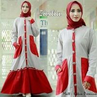 Gamis Zivilia maxi dress Termurah gamis balotelli/Muslim Wanita/Baju