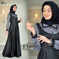 Syafa dress Termurah gamis balotelli /Muslim Wanita/Baju Murah/gamis