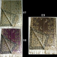 Jual !Terlaris Pasmina Batik Glitter Grade A Tebal Pashmina Souvenir Murah