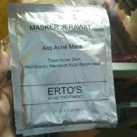 ERTOS Anti Acne Mask / ERTO'S Masker Jerawat
