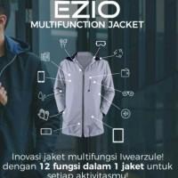 Jaket Multifungsi Ezio 12 fungsi dalam 1 Jaket size XXXXL - XXXXXL