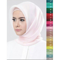 RHEA Organza SILK Premium Hijab Segi Empat