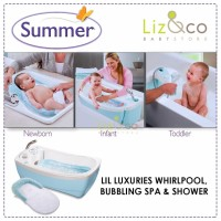 Summer Lil Luxuries Whirlpool Bubbling Spa Shower