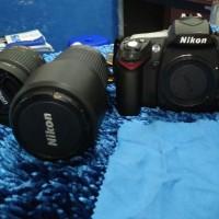 Kamera DSLR Nikon D90 Fullset