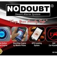 Alarm Mobil No Doubt ( FREE ONGKOS PASANG UNTUK DAERAH JAKARTA )