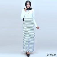 SP 110.34   Baju Gamis Wanita Muslim branded Spiccato 2018