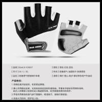 Harga termurah sarung tangan sepeda half finger size l anti slip | antitipu.com