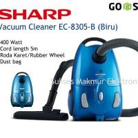 Sharp Vacuum Cleaner EC-8305-B  Biru, Low Wattage