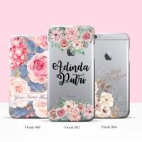 PROMO Custom Case Floral untuk Samsung Note 7