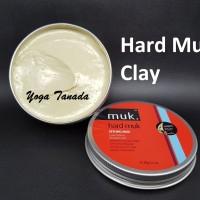 Jual Pomade Hard Muk Styling Mud Hairmud Matte Finish Waterbased FREE SISIR Murah