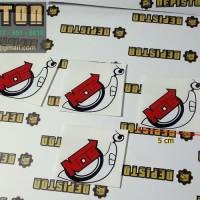 Cutting Sticker KEONG NOS