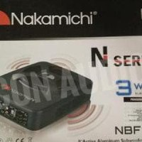 SUBWOOFER AKTIF KOLONG NAKAMICHI NBF 80A Limited