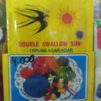 Bahan agar agar double swallow