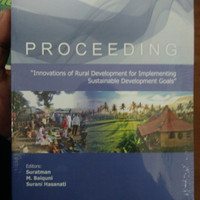 PROCEDING THE 8TH RURAL RESEARCH AND PLANNING GROUP INTERNATIONAL CONF