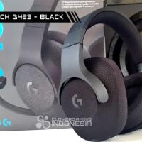 Logitech G433 Black 7.1 - Original Garansi Resmi - Headset Gaming