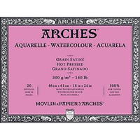 Arches Watercolour Pad Hot Pressed 46x61cm