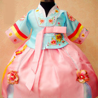 Hanbok girl baju anak dress korea kostum korean traditional clothes