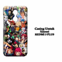 Casing XIAOMI REDMI 5 PLUS anime wallpaper attempt Custom Hard Case Co
