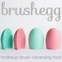 Brush Egg - Pencuci Kuas Riasan / Makeup - Brush Cleaning