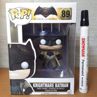 Mainan action figure Knightmare Batman Batman VS Superman DC Funko Pop