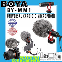 Microphone Boya BY - MM1 Shotgun DSLR / Handphone, dll