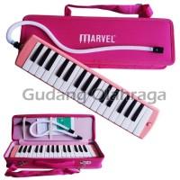 Pianika MARVEL Hard Cover PINK / Pianika Bagus / Pianika Murah