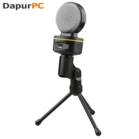 Microphone Blue Condenser Snowball Ice With Stand For Gaming Laptop PC