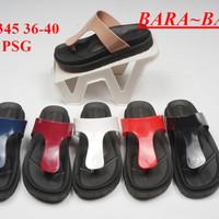 Jelly sandal jepit bara bara wanita sendal cewek japit import 5345