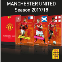 Fezballer Cards kartu bola Manchester United season 2017/18 Versi 2