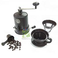 COFFEE GRINDER PENGGILING BIJI KOPI MANUAL MESIN HALUS KASAR STARCAM