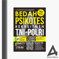 BUKU BEST SELLER!!! BEDAH PSIKOTES REKRUITMEN TNI POLRI