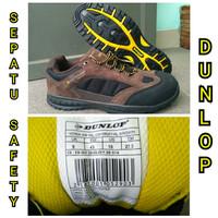 Sepatu Safety Dunlop Iowa Steel Toe Industri Pabrik Kontruksi Proyek