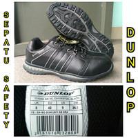 Sepatu Safety Dunlop Idaho Steel Toe Industri Pabrik Kontruksi Proyek