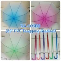 "Payung Panjang Gradasi 22"" PVC NA-005BB"
