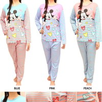 Piyama Wanita Baju Tidur Perempuan Pajamas Cewek Setelan Abg / Dewasa