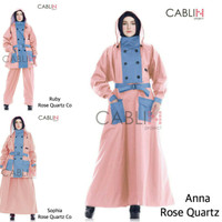 sweater murah Mantel Jas Hujan Muslimah Wanita Cablin Project Gamis