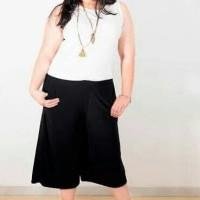 BAJU WANITA celana kulot 3r big size (xxl dan xxxl) kualitas dijamin