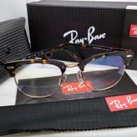 Frame Kacamata Rayban 5154 tortoise glossy lensa bening full set