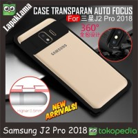 Auto Focus Transparan Case Samsung Galaxy J2 Pro 2018 Grand Prime Pro