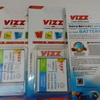 Baterai batre battere vizz double power samsung J2 J200