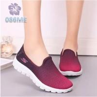 Sepatu Wanita Slip On Sketsa Gradation - 086
