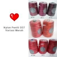Jual Benang Rajut Nylon Peniti D27 Red Group Murah