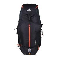 HOT DEAL! Eiger Tas Gunung Pria Excelsior 75+15L Borneo - Hitam Orange