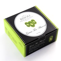Green Tea Almond ( Kue Kering Lebaran - Bisou Premium Cookies )