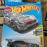 D0037-HOT WHEELS / HOTWHEELS-'16 MERCEDES-AMG GT3-GREY