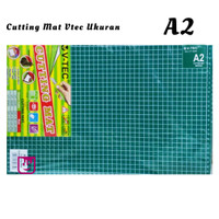 Cutting Mat V-tec A2 / Alas Potong Ukuran A2