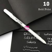 Sakura Gelly Roll Classic Bold Point 10 - White