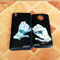 Casing Couple Finger Jari Kelingking Black-White (Ready semua tipe HP)